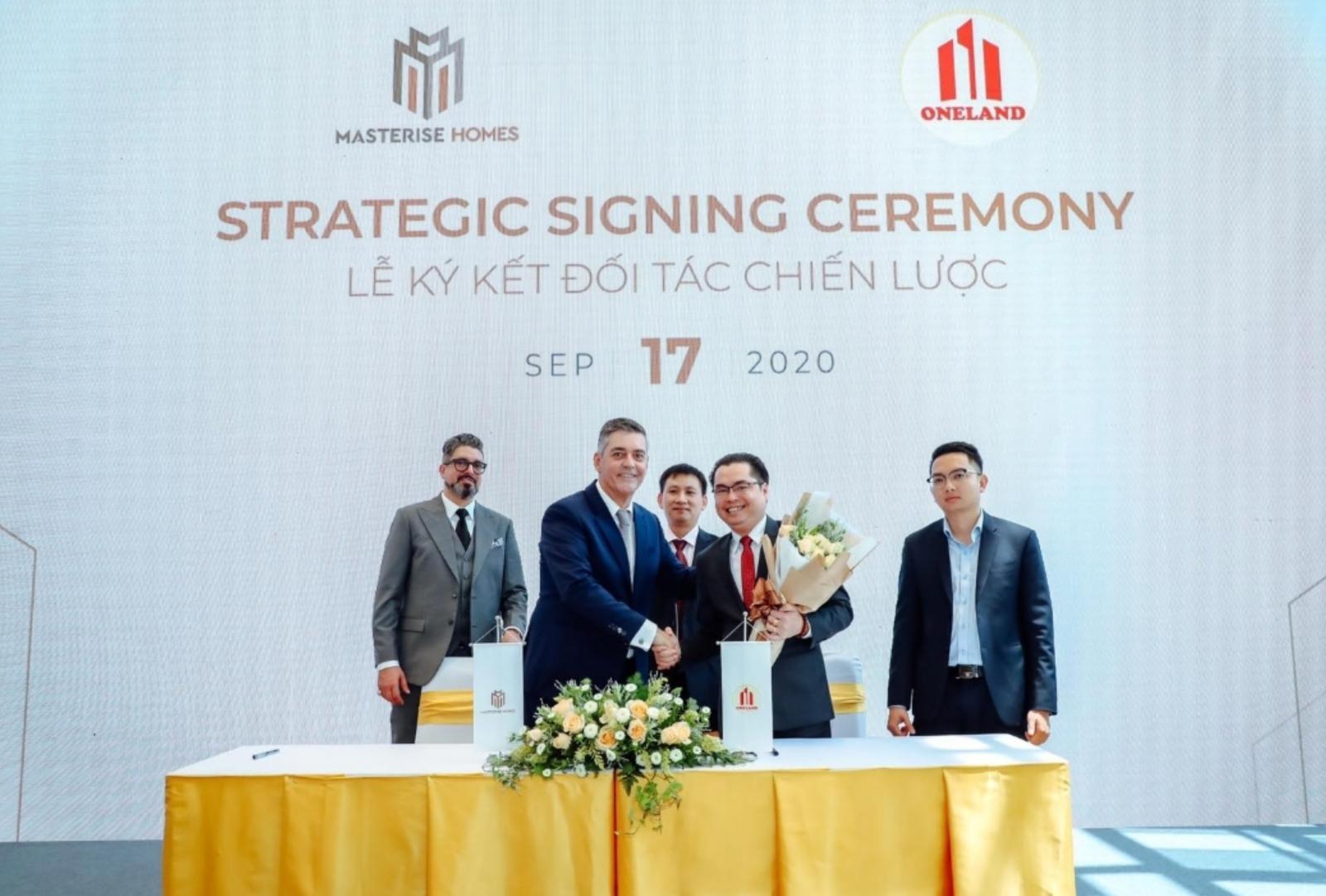 Lễ ký hợp tác đối tác chiến lược với nhà phát triển bất động sản Masterise Homes